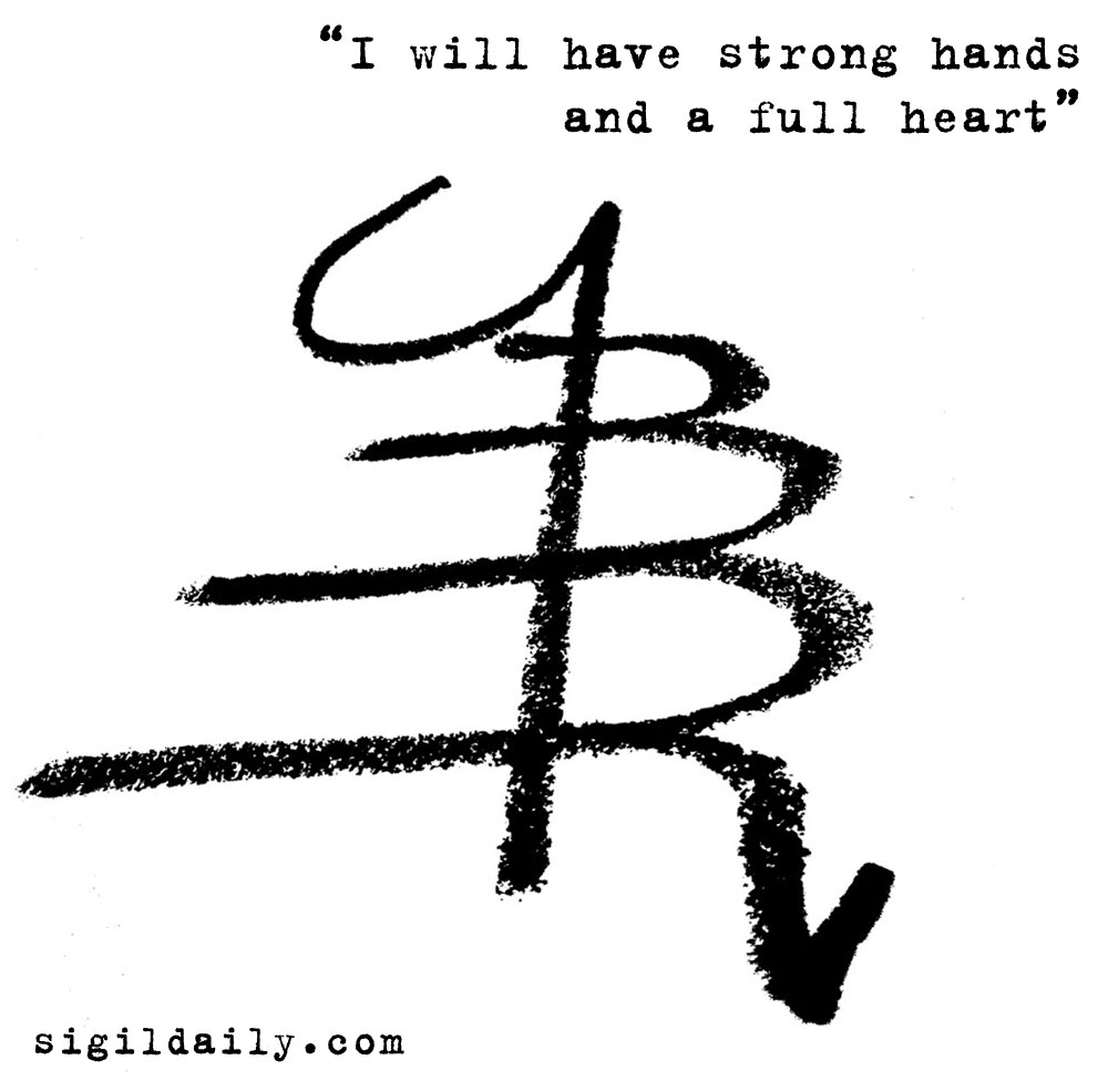 New sigil i will have strong hands and a full heart sigil daily i will have strong hands and a full heart buycottarizona
