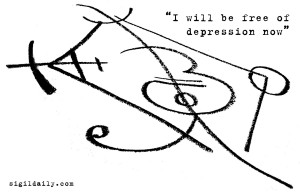 """""""I will be free of depression now."""""""