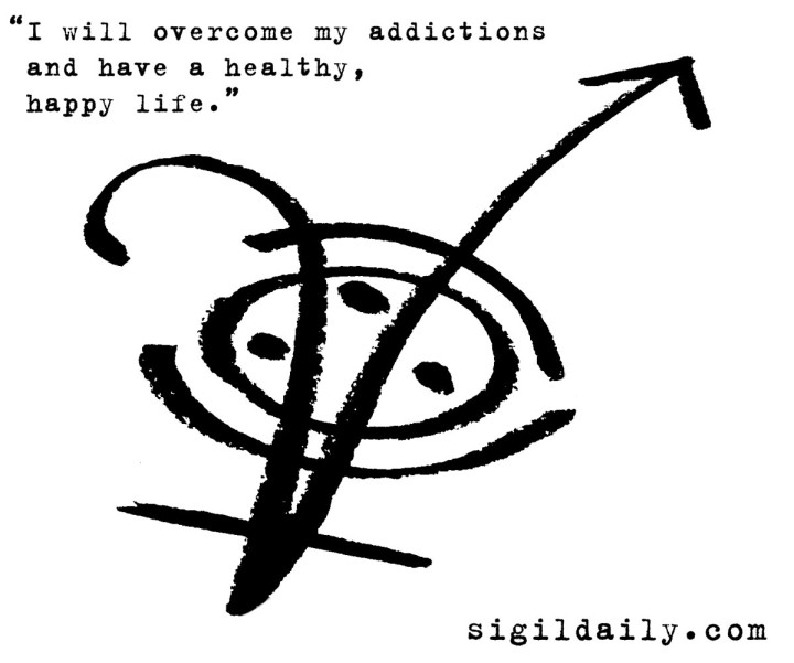 """I will overcome my addictions and have a happy, healthy life."""