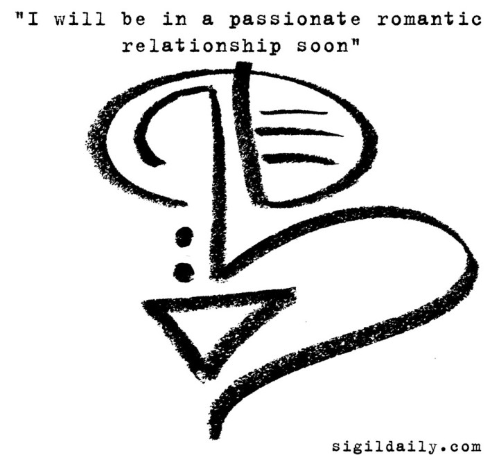 """I will be in a passionate romantic relationship soon"""