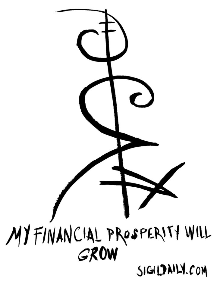 """My financial prosperity will grow."""