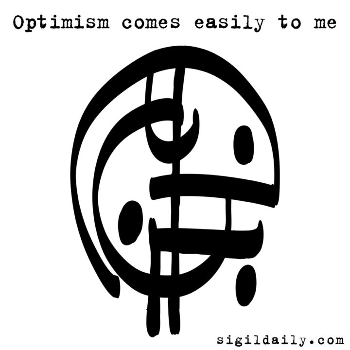 Sigil - Optimism comes easily to me
